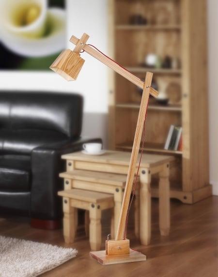 Торшер Wood Bell