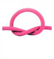 Провод в тканевой оплетке (розовый)