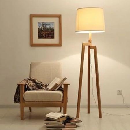 Торшер Wood Tissue h-161см