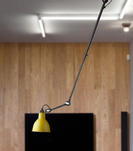Светильник потолочный на шарнире Yellow d14,5 h126см