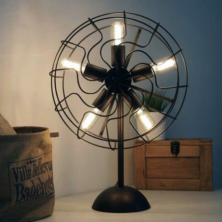 Светильник настольный Fan на 5 плафонов