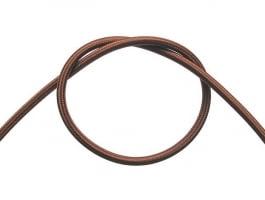 Провод в тканевой оплетке (коричневый)