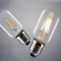 Лампа Эдисона LED T45 6W 1800K диммируемая
