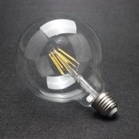 Лампа Эдисона LED G80 4W 1800K диммируемая