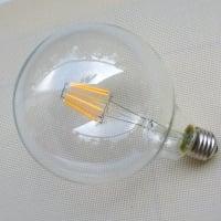 Лампа Эдисона LED G125 6W 2200K диммируемая