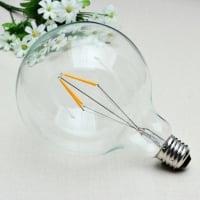 Лампа Эдисона LED G125 4W 1800K диммируемая