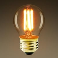 Лампа Эдисона LED G45 4W 2700K