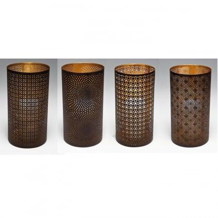 Lantern Ethno Style 25cm Assorted