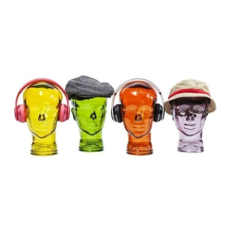 Headphone Mount Transparent Assorted