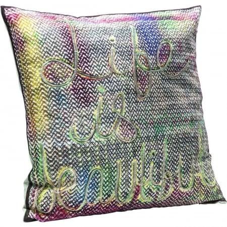 Cushion Life Is Beautiful 45x45cm