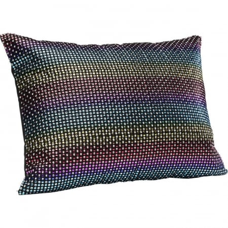 Cushion Rainbow Glitter 40x30cm