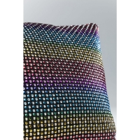 Cushion Rainbow Glitter 40x30cm