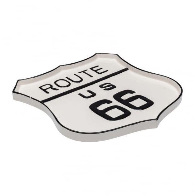 Декоративная тарелка Route 66