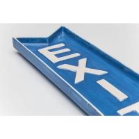 декоративная тарелка Exit