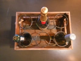 Подставка для вина 6 бутылок
