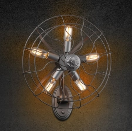 Бра Fan Gray d-45см