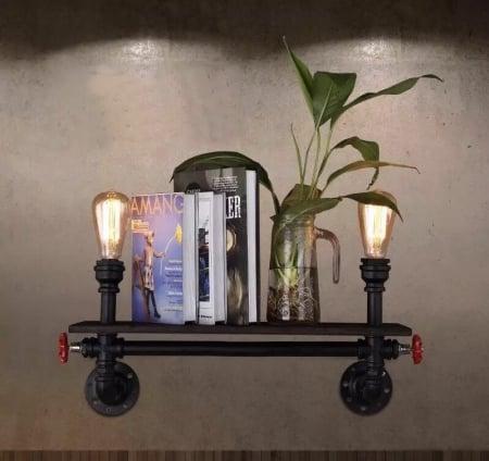 Бра Shelf на 2 плафона 70см