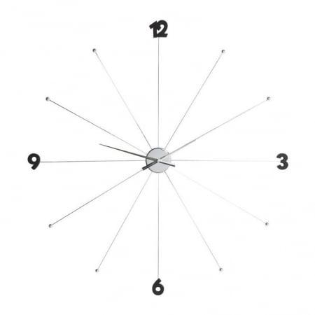 Wall Clock Like Umbrella Chrome