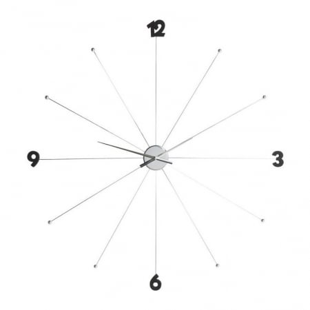 Wall Clock Like Umbrella Chrome