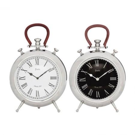 Table Clock Paris Pocket 39cm Assorted