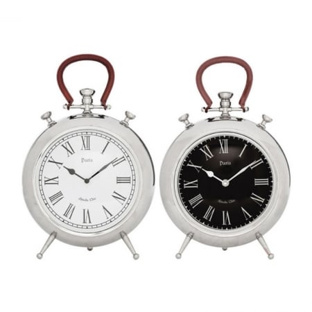 Table Clock Paris Pocket 39cm Assorted