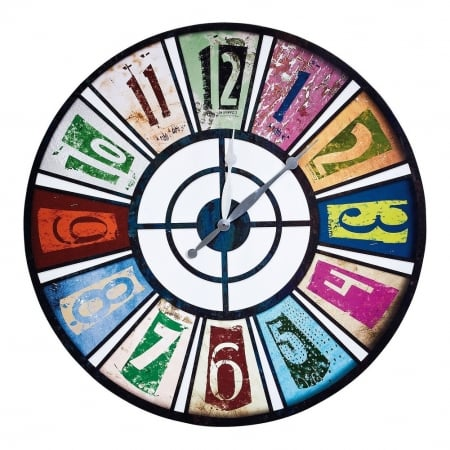 Wall Clock Roulette Pop 80cm