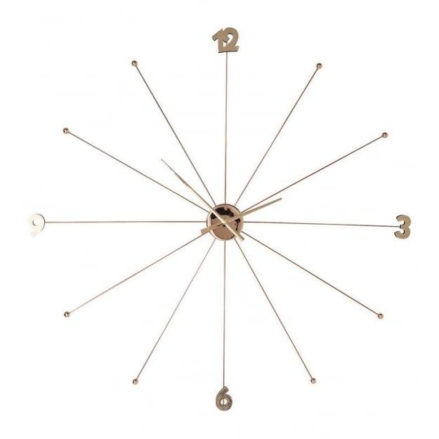 Настенные часы Like Umbrella Rose Gold