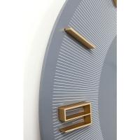 Часы настенные Leonardo Grey/Gold