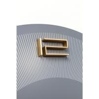Настенные часы Leonardo Grey / Gold