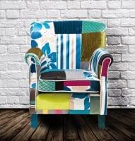 Кресло Patchwork Stripes