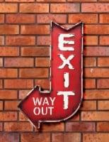 Настенный декор Exit
