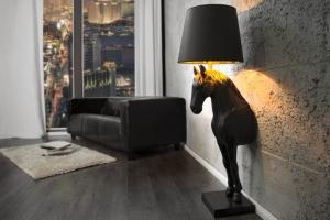 Торшер Horse Small Black H120