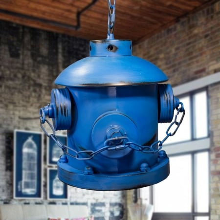 Подвес потолочный Hydrant Blue 22x27см