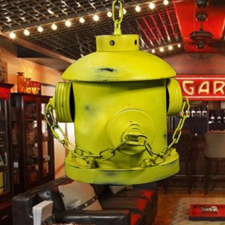 Подвес потолочный Hydrant Yellow 22x27см