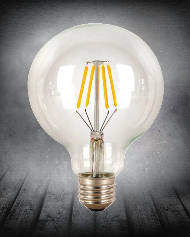 Лампа Эдисона LED G95 4W 2200K