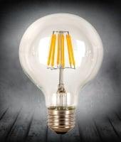Лампа Эдисона LED G95 6W 2200K