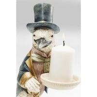 Candle Holder Gentlemen Bird