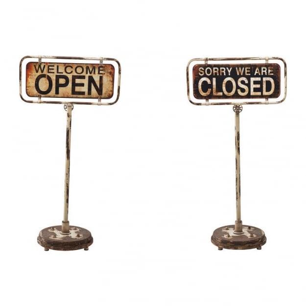 Декорация Sign Welcome Open