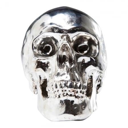 Money Box Skull Chrome