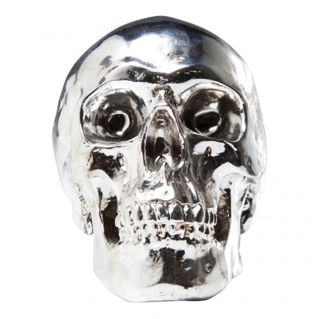 Money Box Skull Chrome