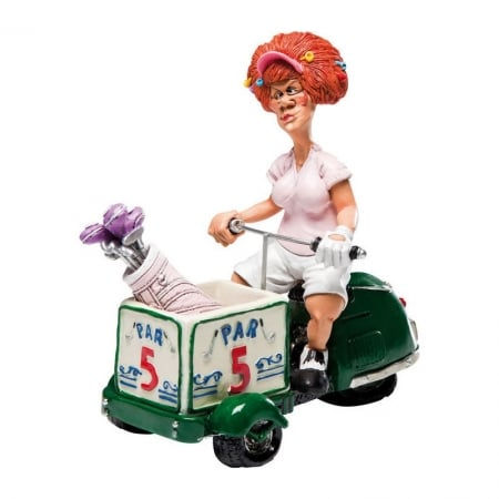 Deco Figurine Golfer Lady