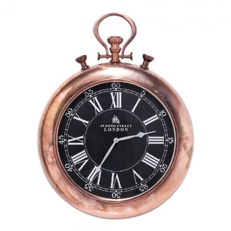 Wall Clock Pocket Copper