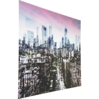 Картина стеклянная Glass NY Skyline 120x160cm