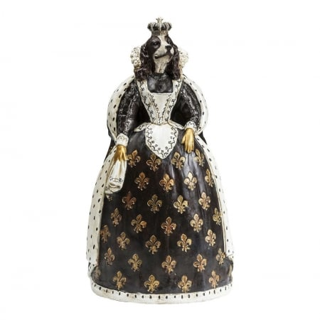 Deco Figurine Queen Dog