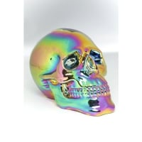 Deco Head Skull Rainbow