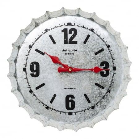Wall Clock Antiquite De Paris Silver Ø36cm