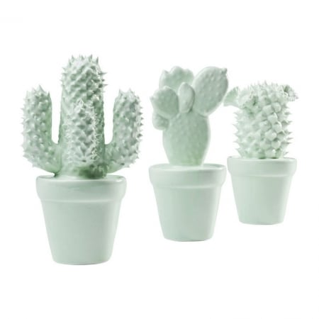 Deco Object Cactus Mint Assorted