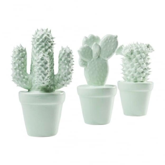 Декор  объект Cactus Mint Assorted