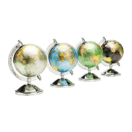 Deco Globe Glister Small Assorted