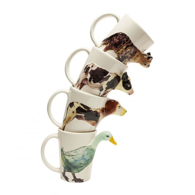 Mug Animals Body Assorted